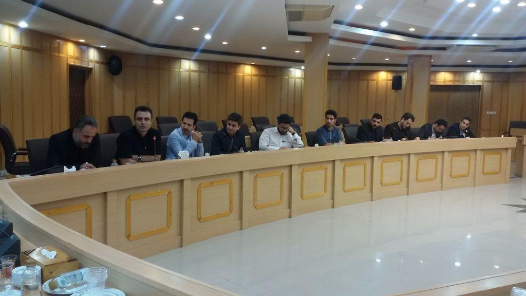 حضور اپلیکیشن های گیلانی نارنج جاجیگا واجارو شوبر در جلسه استانداری گیلان